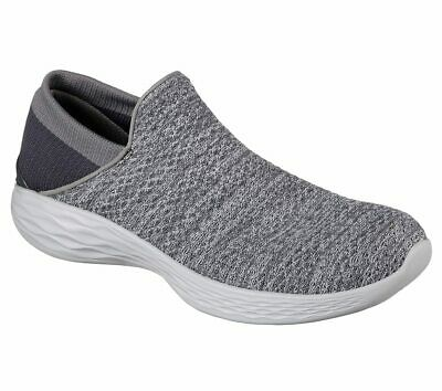 Skechers 14951 'You' Charcoal Ladies Lifestyle Shoes