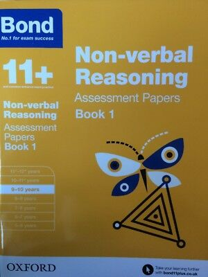 Bond 11+ Plus Non-verbal Reasoning Assessment Papers Age 9-10 years Book 1