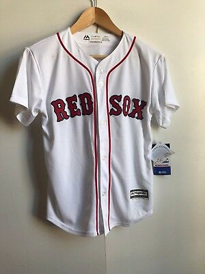 Majestic Kids MLB Boston Red Sox Home Jersey -10-12 Years- White- Betts 50 - New