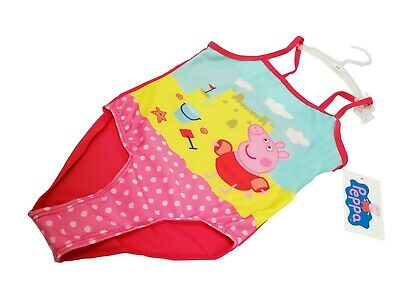 Peppa Pig Swimwear,Girls Swimsuit ,3-6 Years,Official Licensed