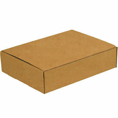 "Box Partners Literature Mailers 12 1/8"" x 9 1/4"" x 3"" Kraft 50/Bundle M1293K"