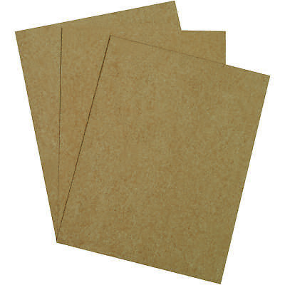 "Box Partners Chipboard Pads 8 1/2"" x 11"" Kraft 960/Case CP8511"