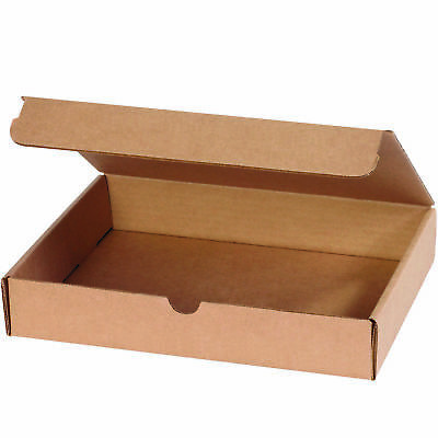 "Box Partners Literature Mailers 11 1/8"" x 8 3/4"" x 2"" Kraft 50/Bundle M1182K"