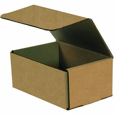 "Box Partners Corrugated Mailers 8"" x 6"" x 2"" Kraft 50/Bundle M862K"