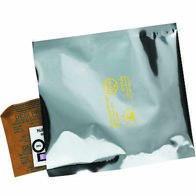 "Dri-Shield™ Moisture Barrier Bags 12"" x 18"" Silver 100/Case DS1016"