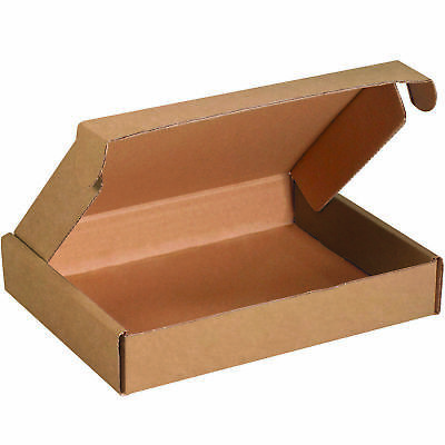 "Box Partners Deluxe Literature Mailers 11 1/8"" x 8 3/4"" x 3"" Kraft 50/Bundle"