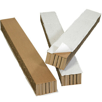 "Box Partners Honeycomb Pallet Runners 48"" x 6"" x 4"" Kraft 6/Case HC4864R"