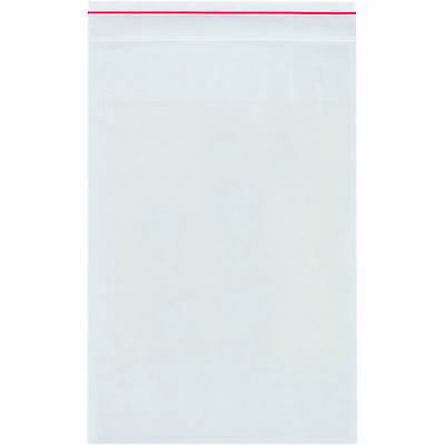 "Minigrip 4 Mil Reclosable Poly Bags 8"" x 8"" Clear 1000/Case MG3755"
