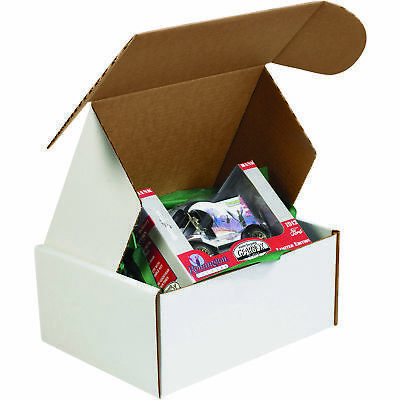"Box Partners Deluxe Literature Mailer 9"" x 6 1/4"" x 4"" White 50/Bundle MFL964R"