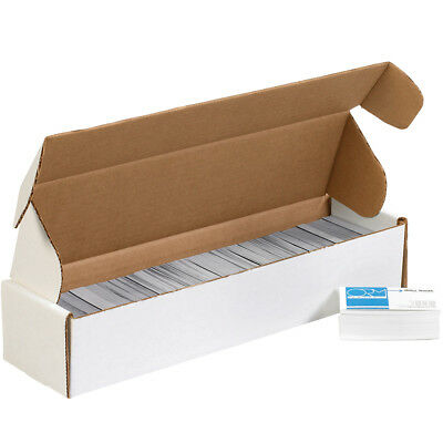 "Box Partners Deluxe Literature Mailers 14"" x 3 3/4"" x 2 3/4"" White 50/Bundle"