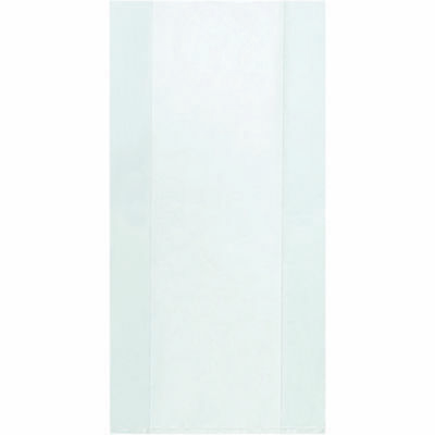 """Box Partners Gusseted 2 Mil Poly Bags 10"""" x 6"""" x 20"""" Clear 1000/Case PB1589"""