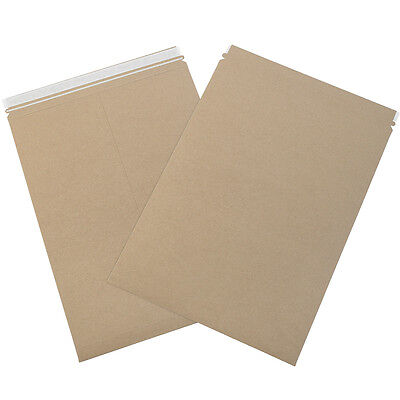 "Box Partners Self-Seal Flat Mailers 18"" x 24"" Kraft 50/Case RM11PSK"