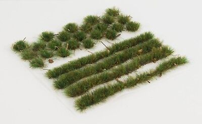 WWS 6mm Forest Ground Static Grass Modeling Tufts/Strips Mix -Railroad Warhammer