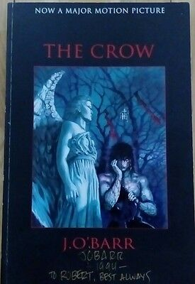 THE CROW J O'BARR SIGNED GRAPHIC NOVEL 2nd PRINTING 1994 KITCHEN SINK PRESS