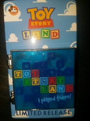 Disney Toy Story Land Passholder Pin Opening Day Stained Glass Limited Release
