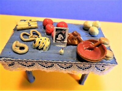 """REDUCED!!!   Day of the Dead Minature """"Ofrenda"""" Home Altar Table C"""