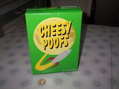 1998~South Park Kyle Empty Cheesy Poofs Box~Numbered 8215~Wow 20 Yrs Old!