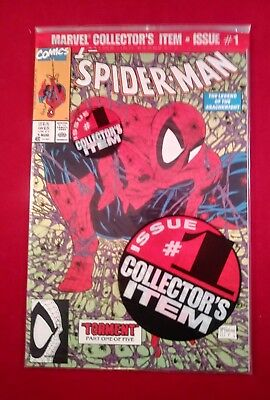 SPIDER-MAN # 1 GREEN EDITION GREEN  Polybagged. MINT, UNREAD, SEALED