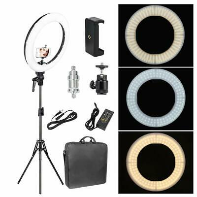 14 SMD LED Ring Light Dimmable 5500K Continuous Lighting for Photograph​y/Camera