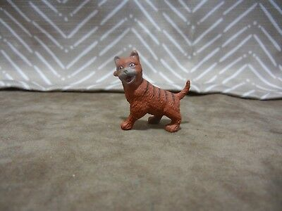 Striped Cat marked ACC Vintage Dollhouse Miniature