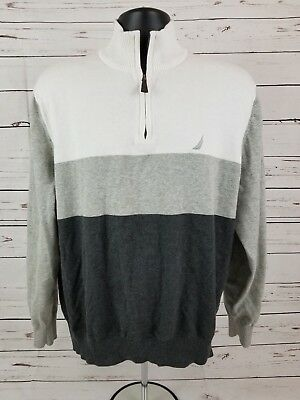 Nautica Half-Zip Pullover Sweater Youth Size XL (A4)