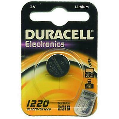Batteries Duracell Special Lithium 3V Cr 1220