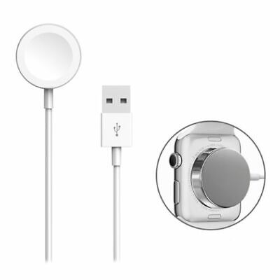 Authentic & Original Apple Watch Magnetic Charging Cable (0.3m) White MLLA2AM/A