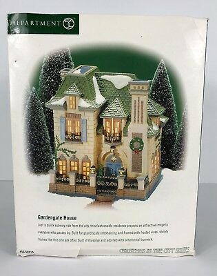 Department 56 Christmas In The City Series Gardengate House # 56.58915