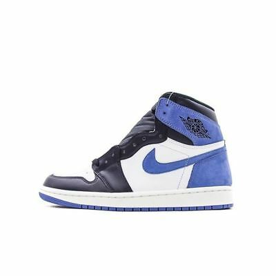 2018 NIKE AIR Jordan 1 Retro High OG Game Royal Blue 555088 403 ... e56655ad1