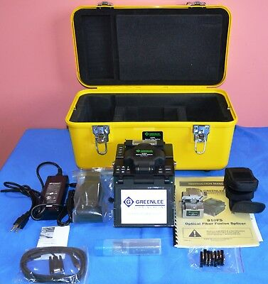 Greenlee 910FS Kit1 Fusion Splicer with 910CL Fiber Optic Cleaver & Case 2013