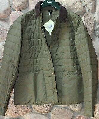 Barbour Jacket Coat Collegiated Liddesdale Quilted MQU07520OL51 XX-Large XXL UK