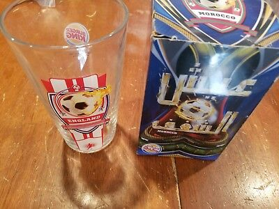 Rare Burger King Collectors Series Glass  England Mls World Cup