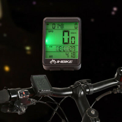 LCD Wired Wireless Cycling Waterproof Bike Computer Bicycle Speedometer Odometer