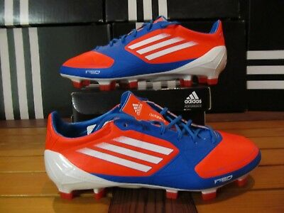 0d5a56756fe DS Adidas F50 Adizero TRX FG Sy Infrared Blue 5 V21436 Soccer Cleats messi  mania