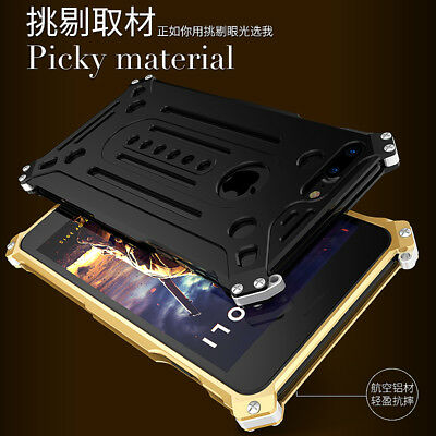 Kaneng Aluminum Cover Metal Protection Case Shockproof Shell For iPhone 8 Plus