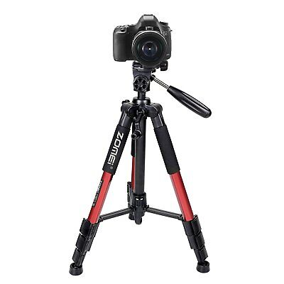 Portable Professional Folding Tripod&Pan Head for Canon Nikon Camera Zomei Q111