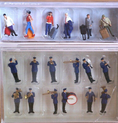Preiser Boxed Figure Sets H0 scale 1:87, new in box - CHOOSE