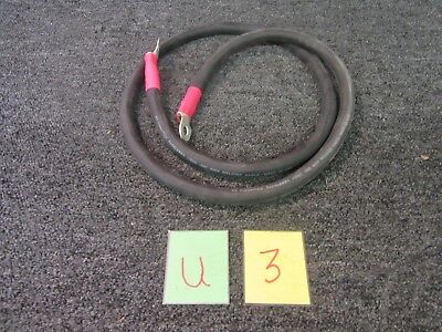 Wheeler Brothers 1977-Mb73-20004 Battery Storage Leads Terminal Wire Cable New