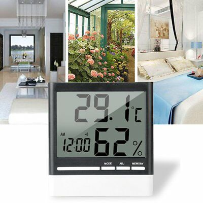 318 Digital Electronic Thermometer Hygrometer Temperature Humidity Monitor UK