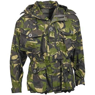British Army Windproof Smock DPM Camouflage Military Surplus Jacket - Grade 1
