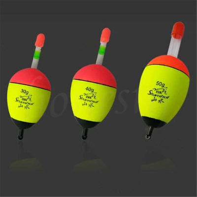 2x EVA Bobber Fishing Float Fishing Tackle Sea Fishing Floating Buoy Floats