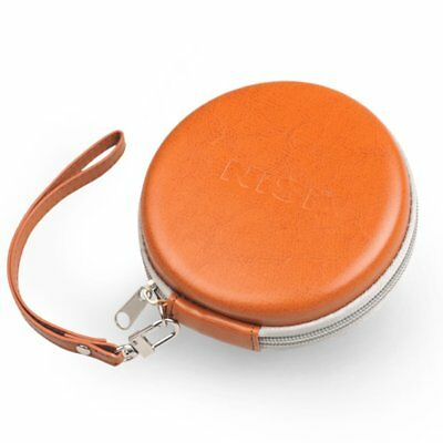 Nisi PU Leather Round Filter Bag Circular Storage Protector Case for UV ND CPL