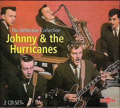Johnny & The Hurricanes~The Definitive Collection~2 CD BOX SET~LIKE NEW COND.