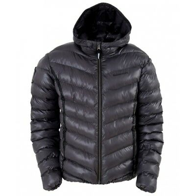 Halvarssons Score Lava Grey Mens Quilted Jacket Motorcycle Motorbike Mid Layer *
