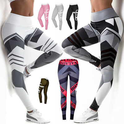 Damen Wellnesshose GYM Hose Laufhose Push Up Leggings Yoga Sporthose Jogginghose