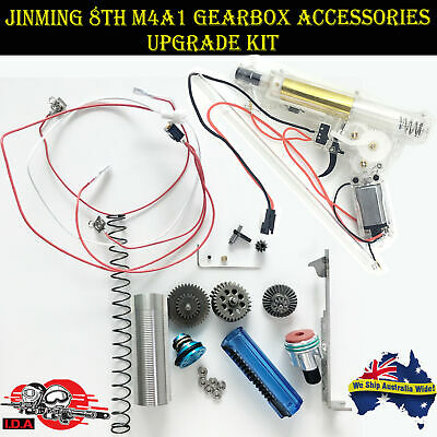 Toy Upgrade Gearbox Metal Parts for JinMing Gen8 M4a1 Gel Ball Blaster OZ!