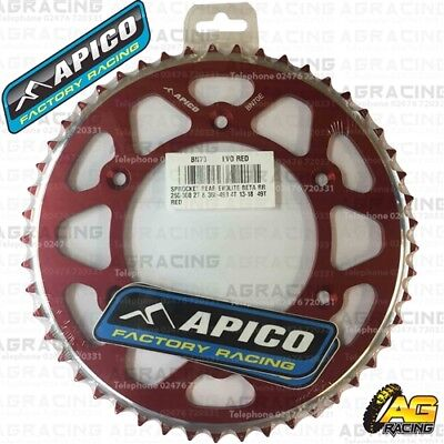 Apico Evolite Red Rear Sprocket 50T 520 For Beta 250RR 2T 2018