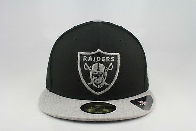 OAKLAND RAIDERS NEW Era 59Fifty Fitted Hat All Distress Logo ... 4ad6d7252