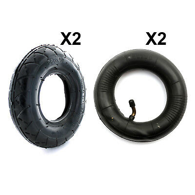 2x Gas Scooter TYRE & Inner Tube 200x50 Tire Electric Mobility Scooter 8x2''