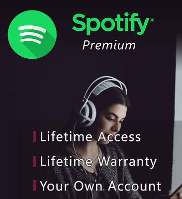 Upgrade Your Own Account Spotify 1 Year Premium 1 Year Guarantee